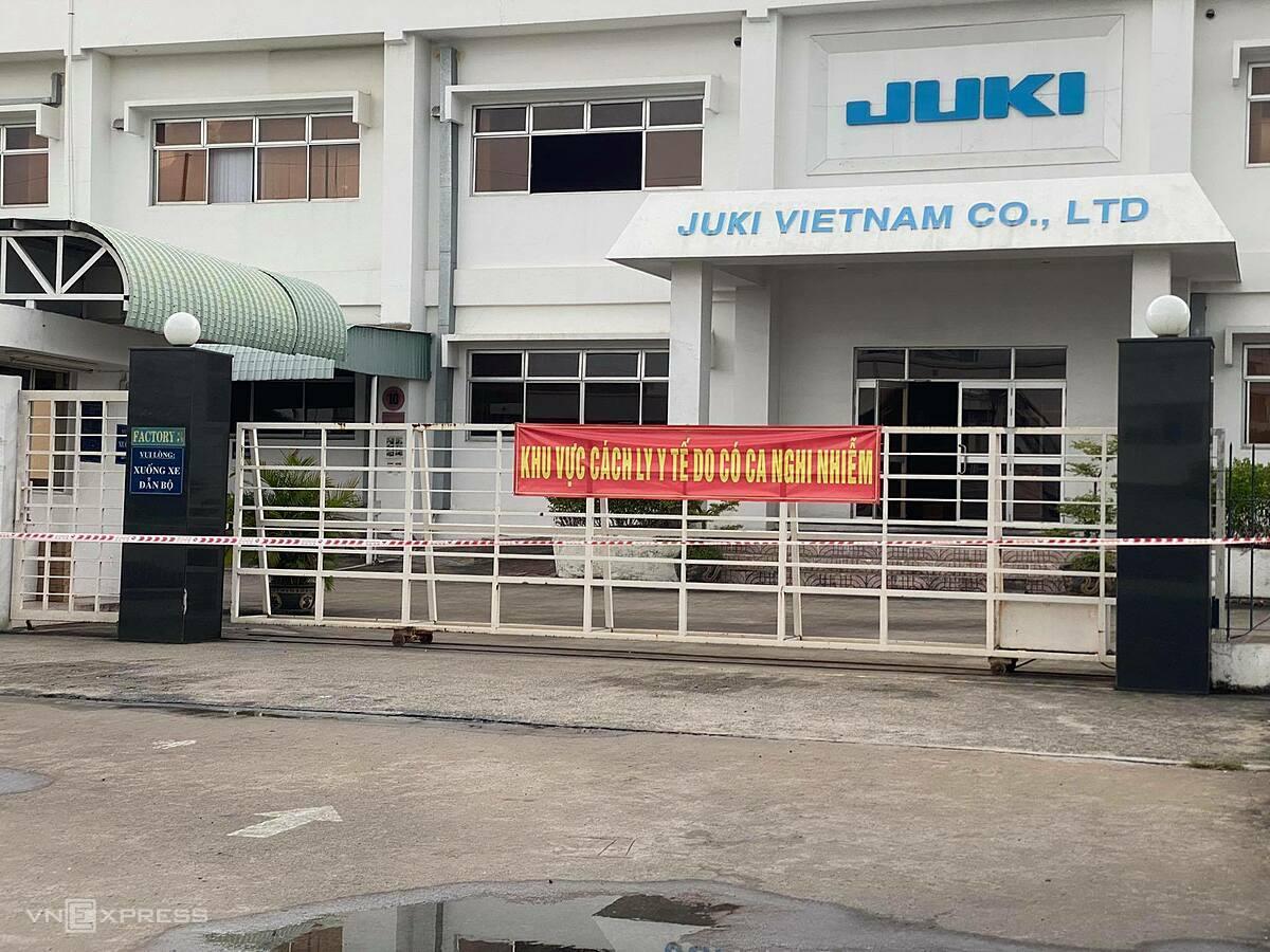 Doanh nghiệp ở khu chế xuất Tân Thuận (quận 7). Ảnh: Tấn Đạt.