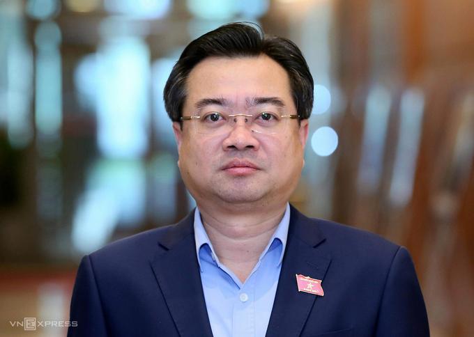 Tân Bộ trưởng Xây dựng Nguyễn Thanh Nghị. Ảnh: Giang Huy.