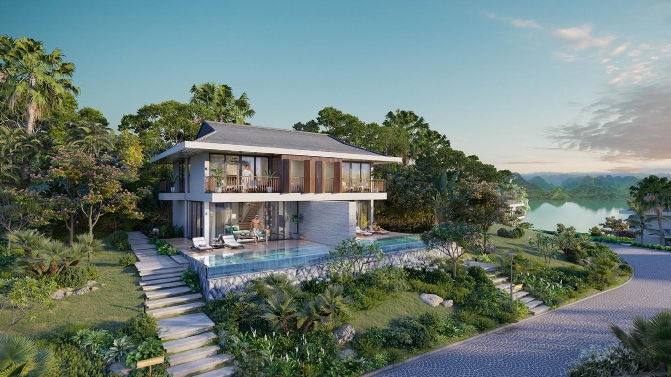 Biệt thự nghỉ dưỡng tại Cullinan Hoà Bình Resort