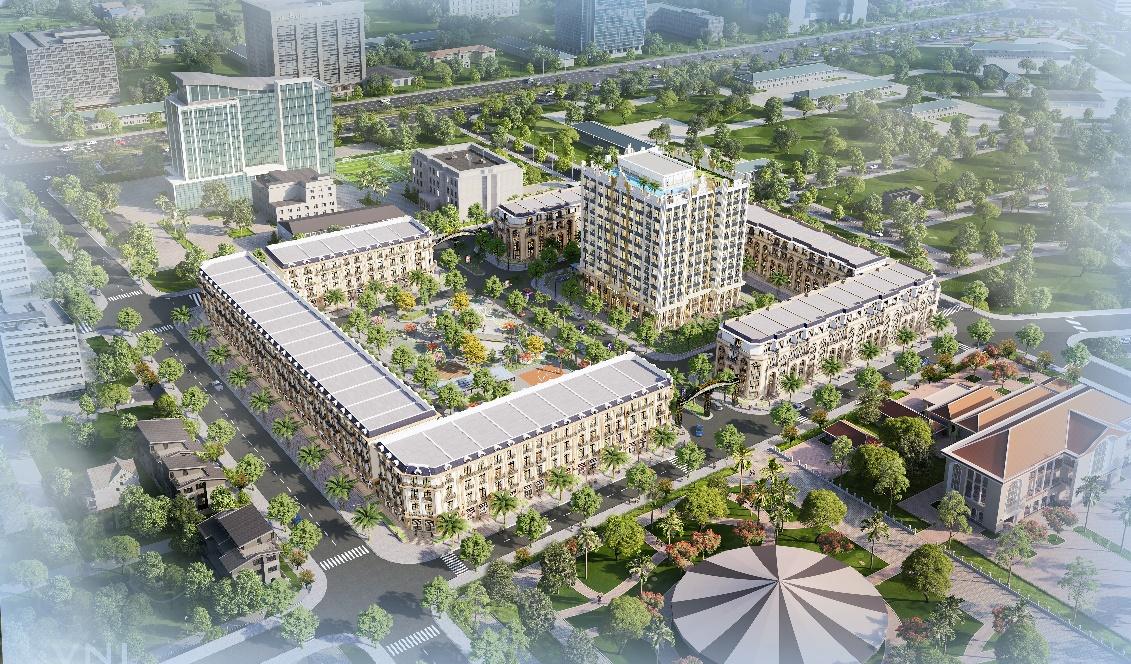 Phối cảnh dự án D. Metropole Hà Tĩnh.