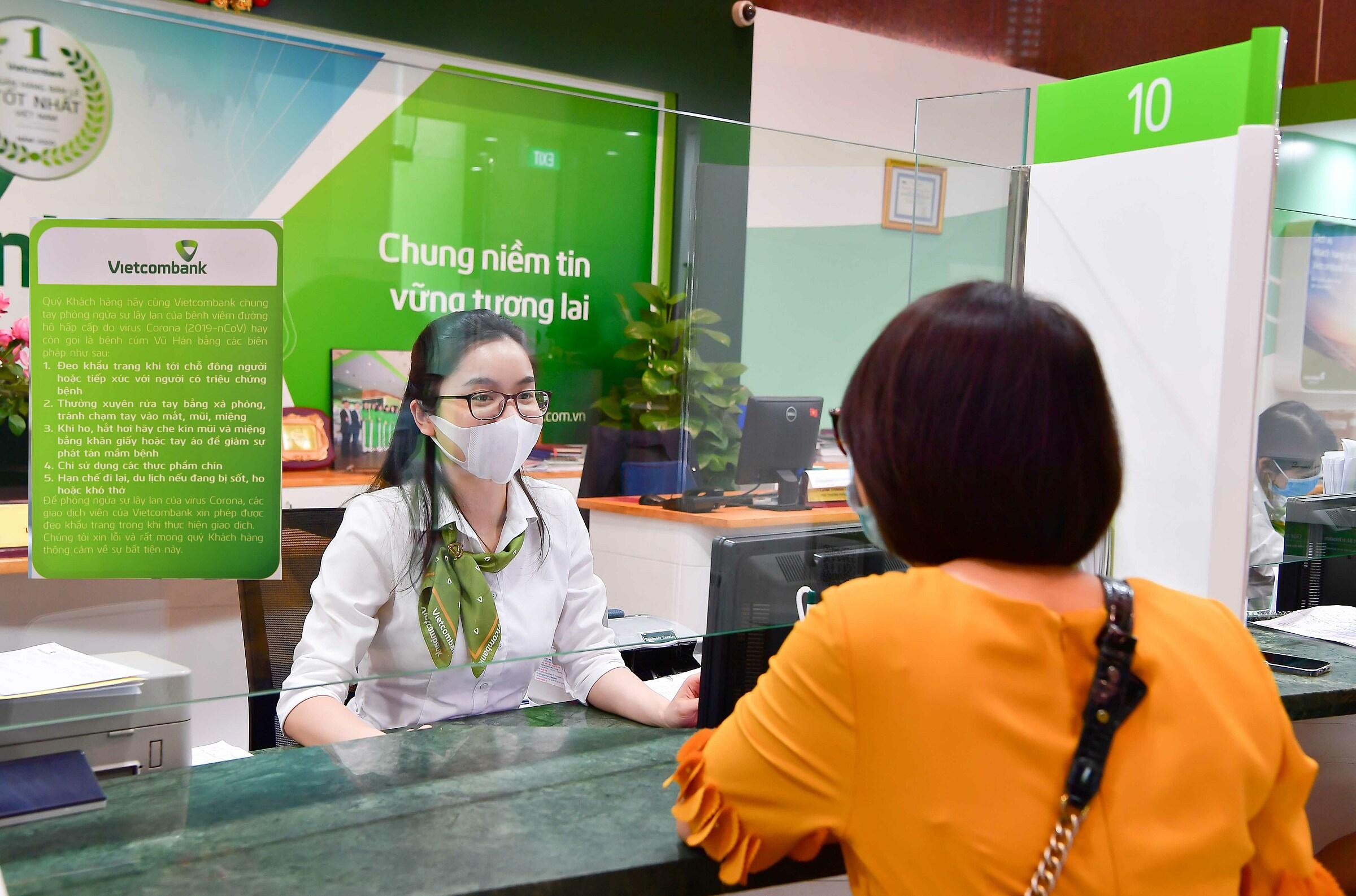 Vietcombank triển khai đợt giảm lãi suất cho vay lớn nhất từ đầu năm đến nay. Ảnh: Vietcombank.
