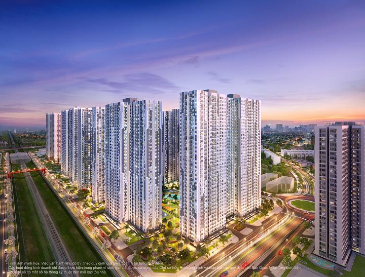The Miami sở hữu vị trí đắc địa giúp kết nối thuận tiện cả nội và ngoại khu. Ảnh: The Miami