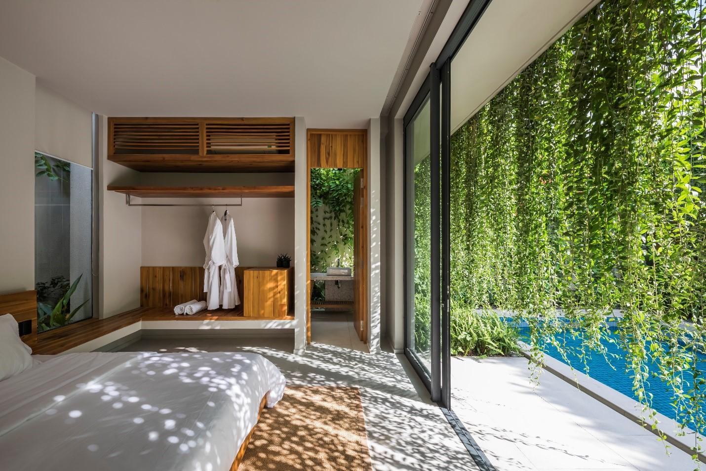 Sở hữu kiến trúc go green nổi bật và khác biệt, Wyndham Phú Quốc mang đến trải nghiệm hoà mình cùng với thiên nhiên. Ảnh: Nam Group.