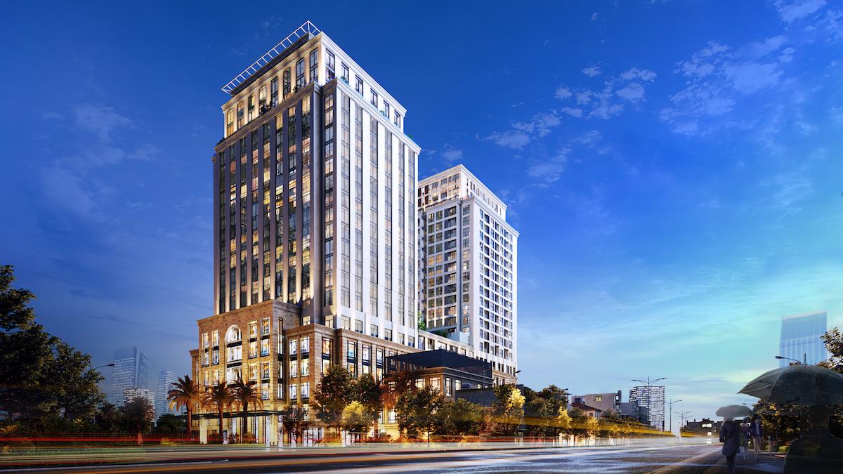 BRG Legend – Dự án căn hộ cao cấp tại Hải Phòng. Ảnh: BRG Legend