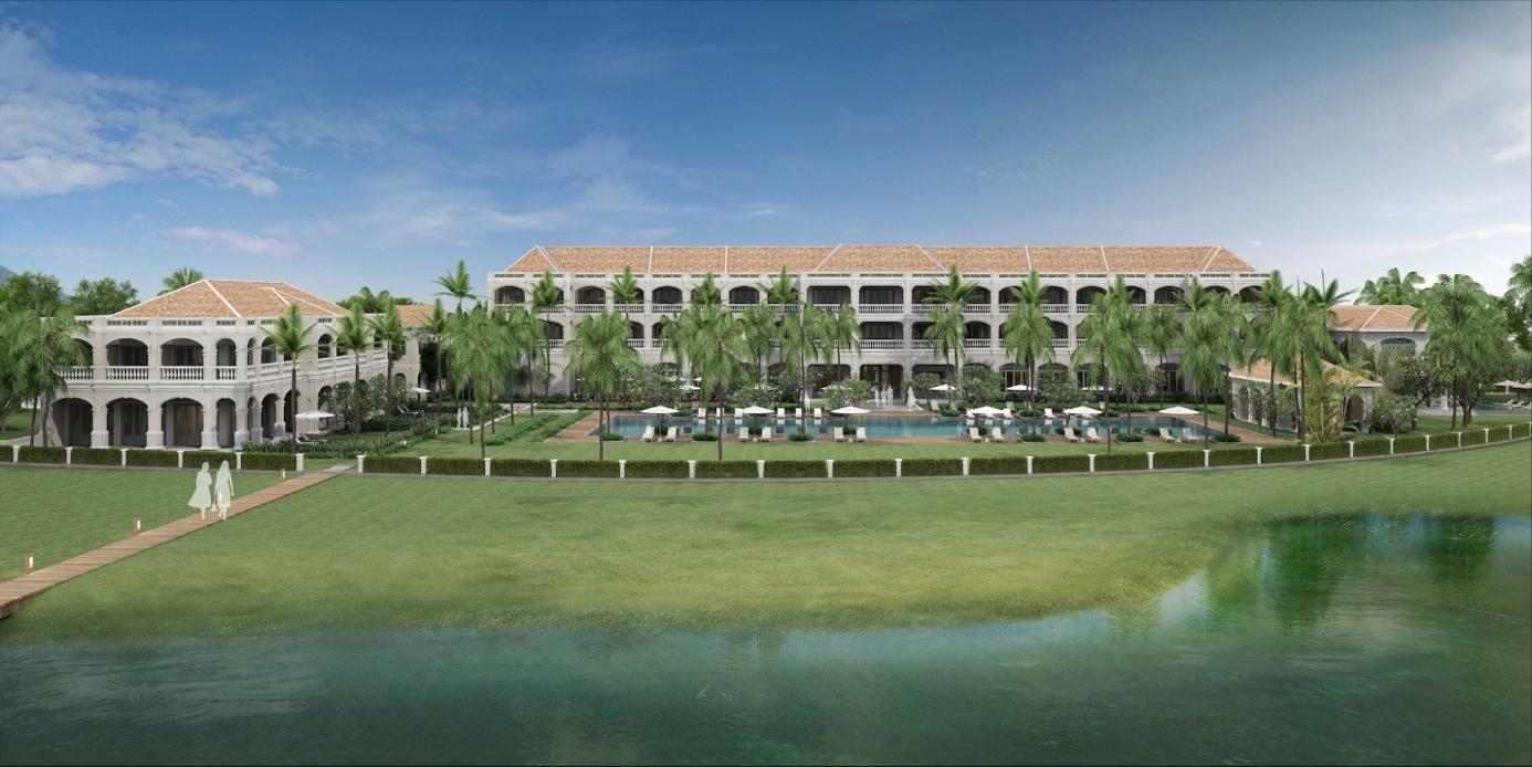 Resort tiêu chuẩn 4 bên cạnh tổ hợp quảng trường - bến du thuyền Aqua Marina mang đến trải nghiệm nghỉ dưỡng cao cấp.