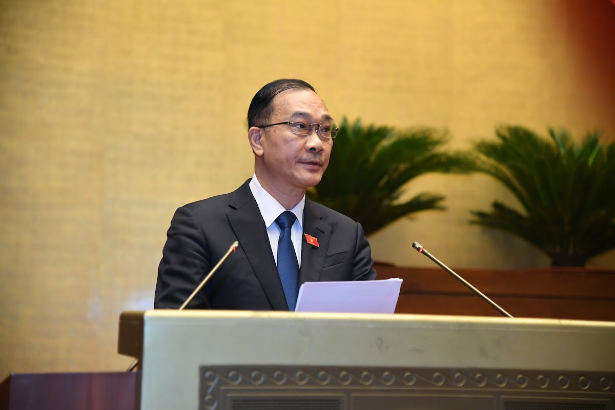 Ông Vũ Hồng Thanh - Chủ nhiệm Uỷ ban Kinh tế của Quốc hội. Ảnh: Giang Huy
