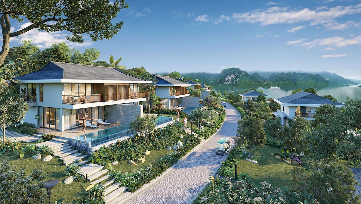 Một căn biệt thự nghỉ dưỡng tại Cullinan Hoa Binh Resort.