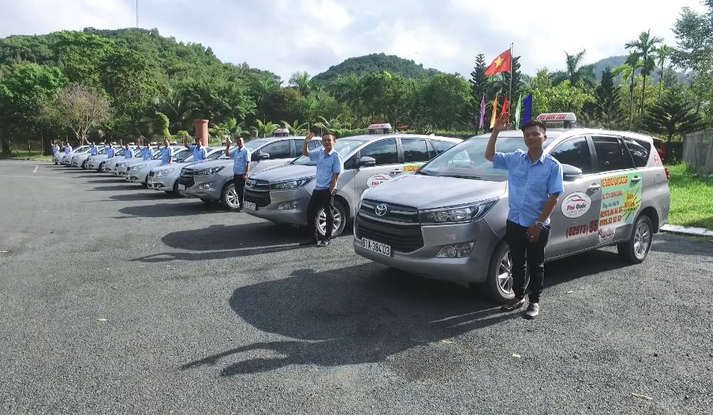Phú Quốc Taxi là thương hiệu taxi hàng đầu tại đảo Ngọc.