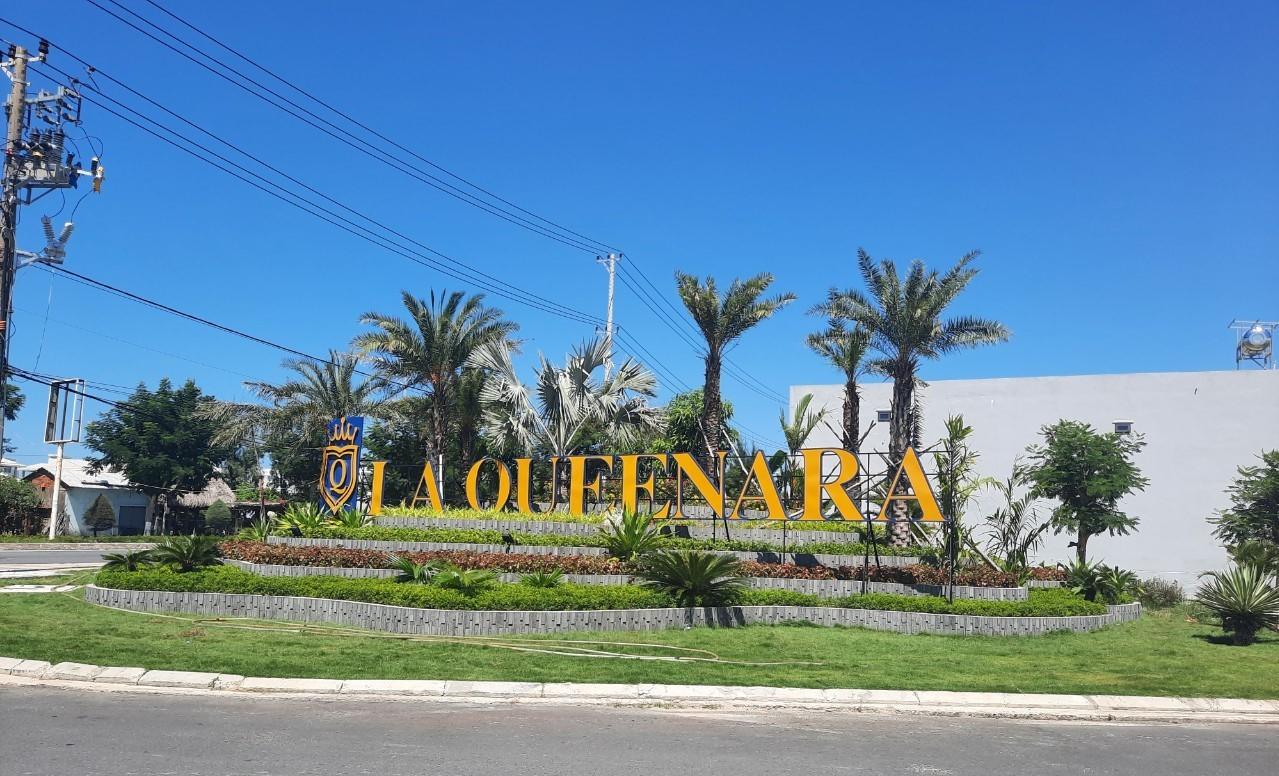 Dự án La Queenara đã hoàn thiện phần hạ tầng và được Sở Xây dựng tỉnh Quảng Nam nghiệm thu. Ảnh: Bắc Hội An.