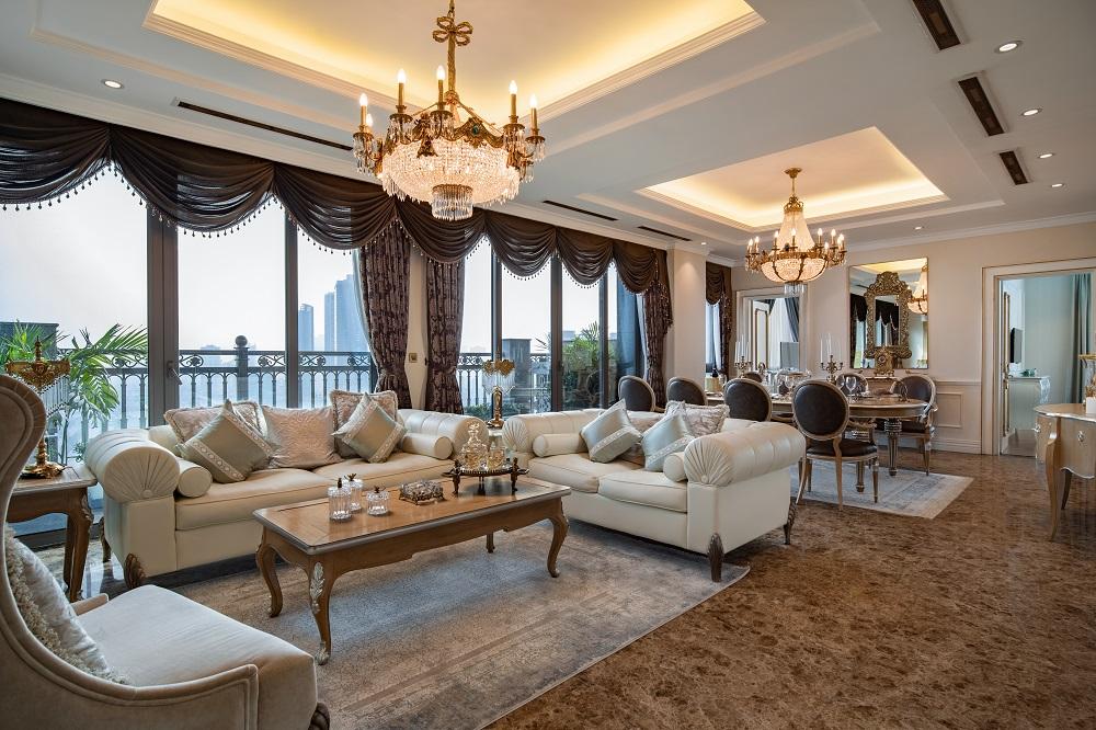 Các căn hộ sở hữu nội thất cao cấp, luôn tràn ngập ánh sáng tự nhiên.