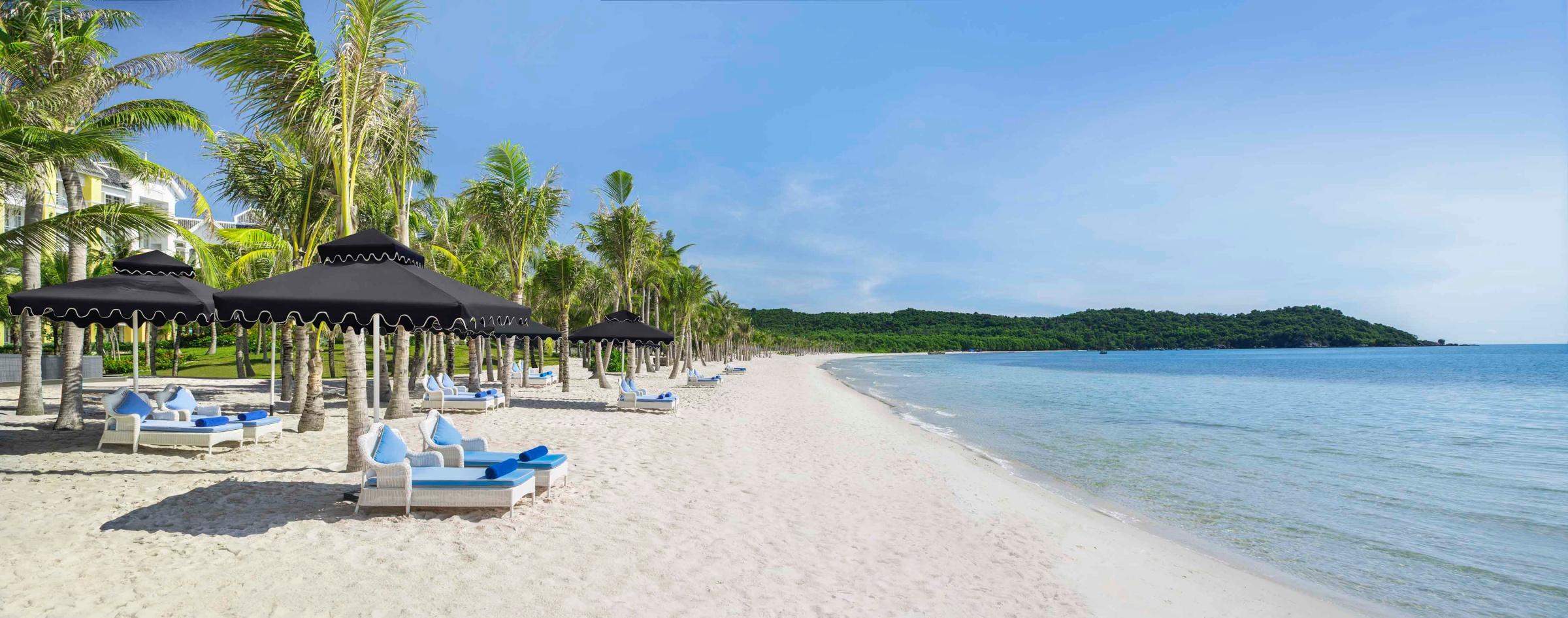 Bãi Kem ở Nam Phú Quốc vào top 100 bãi biển đẹp nhất hành tinh.