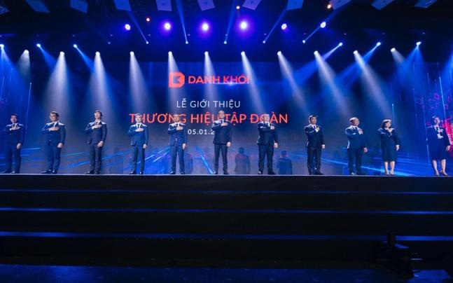 Tập đoàn Danh Khôi đánh dấu bước chuyển mình sau 15 năm phát triển bằng sự kiện ra mắt nhận diện thương hiệu mới vào ngày 5/1. Ảnh: Tập đoàn Danh Khôi.