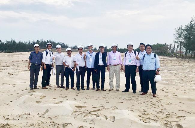 Tập đoàn Anabuki đến khảo sát quỹ đất của Tập đoàn Danh Khôi tại Việt Nam. Ảnh: Tập đoàn Danh Khôi.