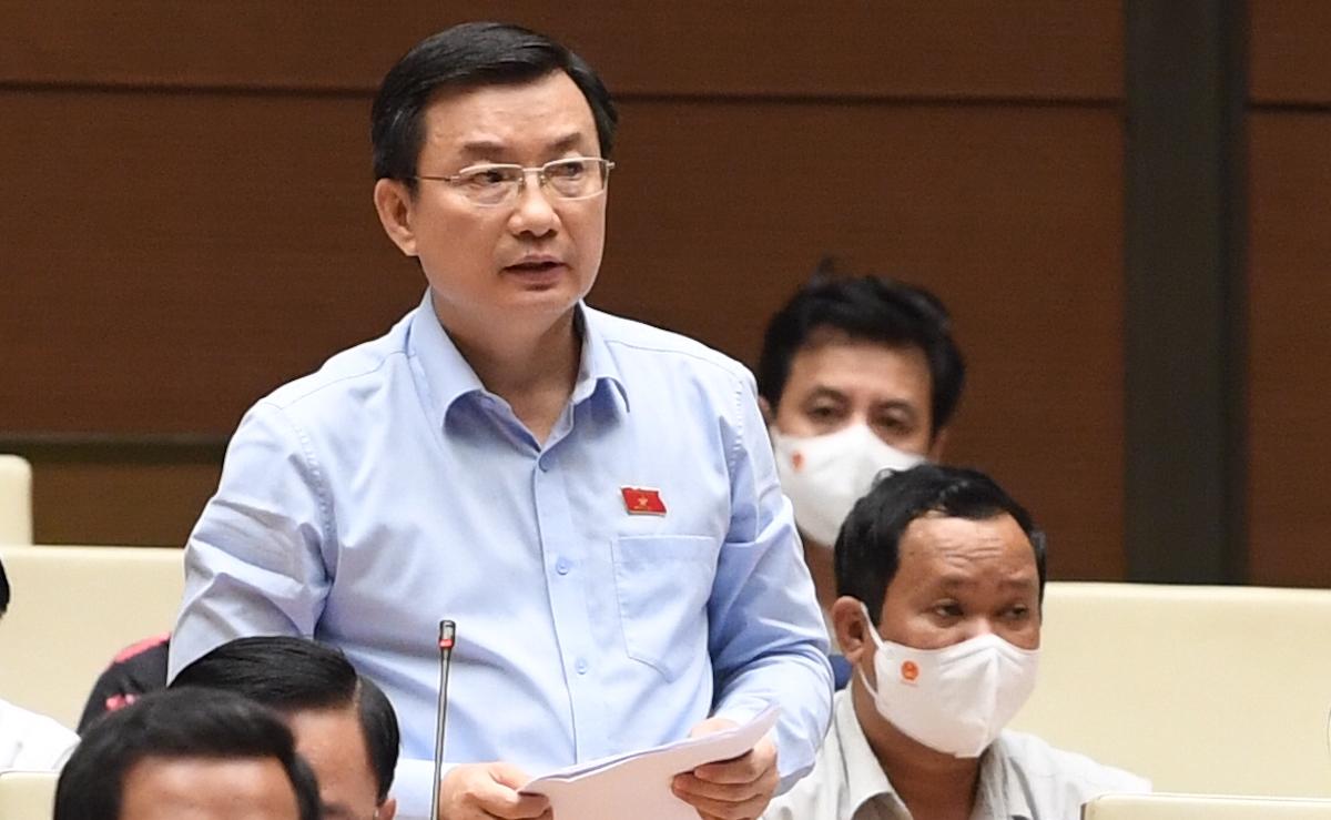 Ông Phạm Trọng Nhân - Phó trưởng đoàn tỉnh Bình Dương. Ảnh: Giang Huy