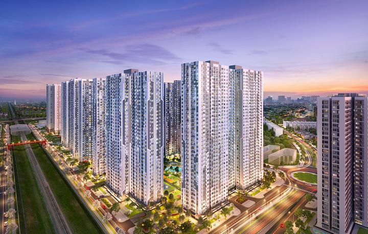 Không gian sống resort phong cách Mỹ tại The Miami (Vinhomes Smart City) trở thành tâm điểm chú ý của thị trường bất động sản phía Tây Hà Nội