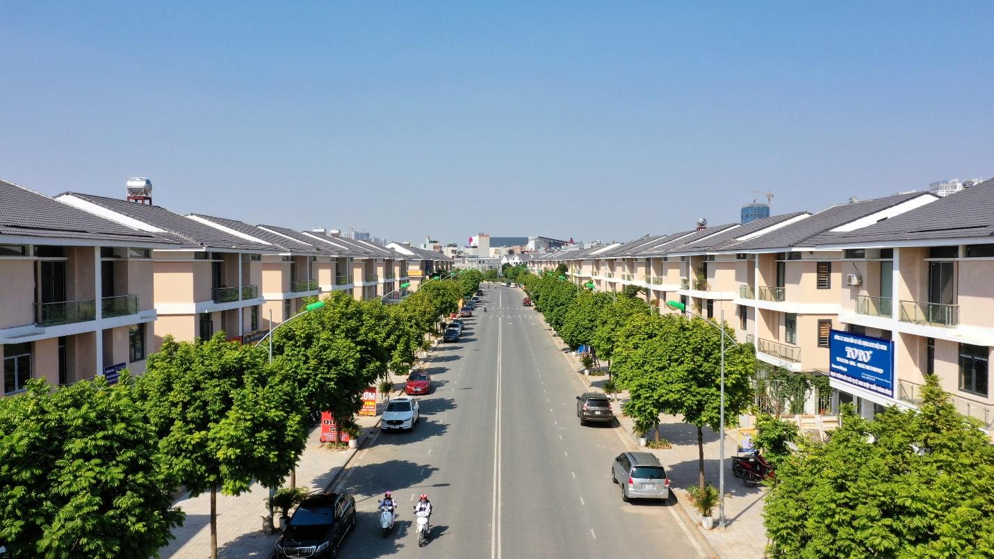 Một góc dự án An Phú Shop-villa.