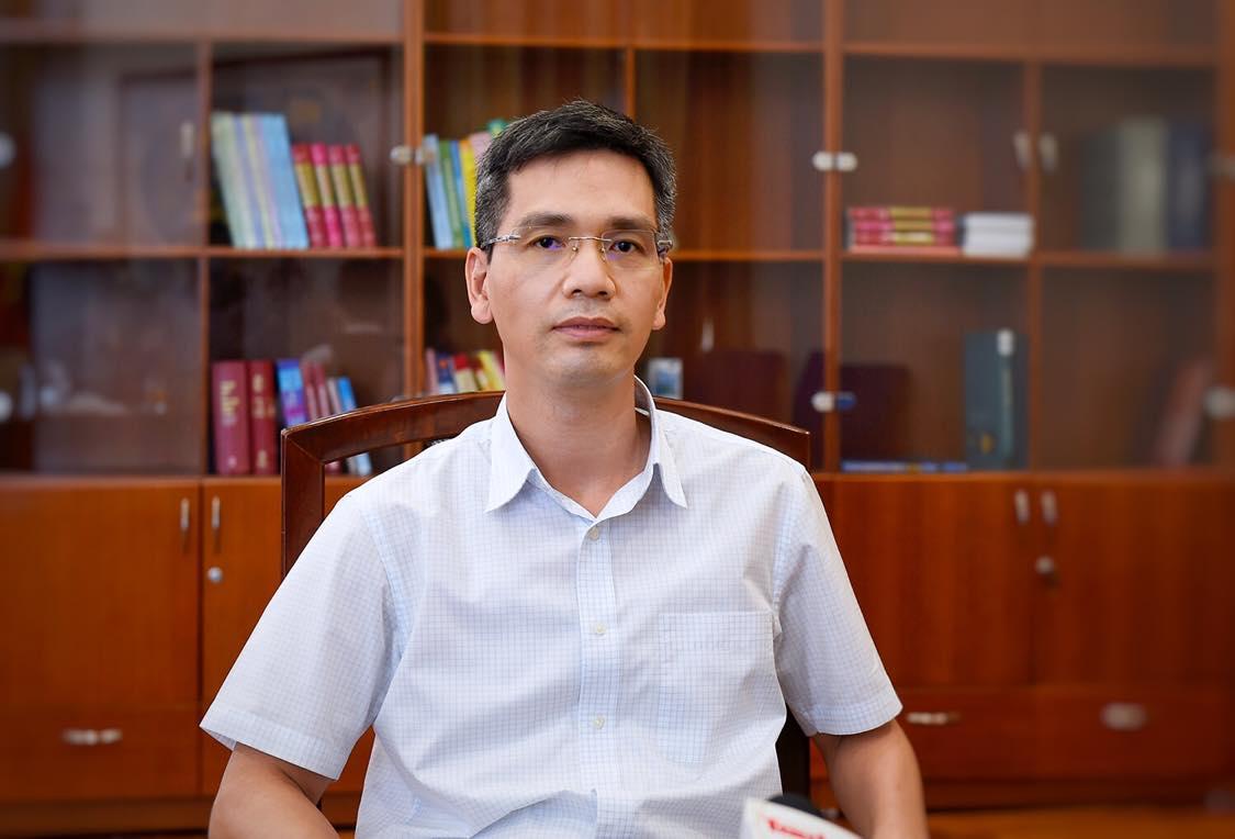 Tân thứ trưởng Bộ Tài chính Võ Thành Hưng. Ảnh: MOF.