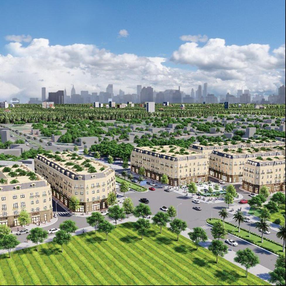 Phối cảnh dự án Sơn Đồng Center. Ảnh: MBLand Invest.