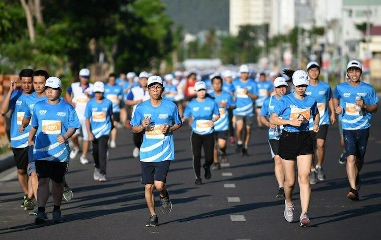 Các runner tham dự giải VM Quy Nhơn 2019. Ảnh: VM.