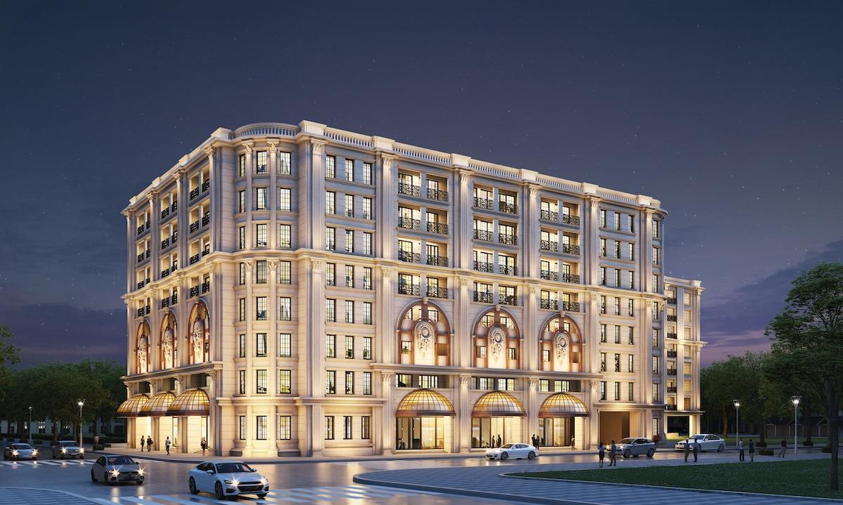 Hình minh họa dự án Khu căn hộ hàng hiệu Ritz-Carlton, Hà Nội