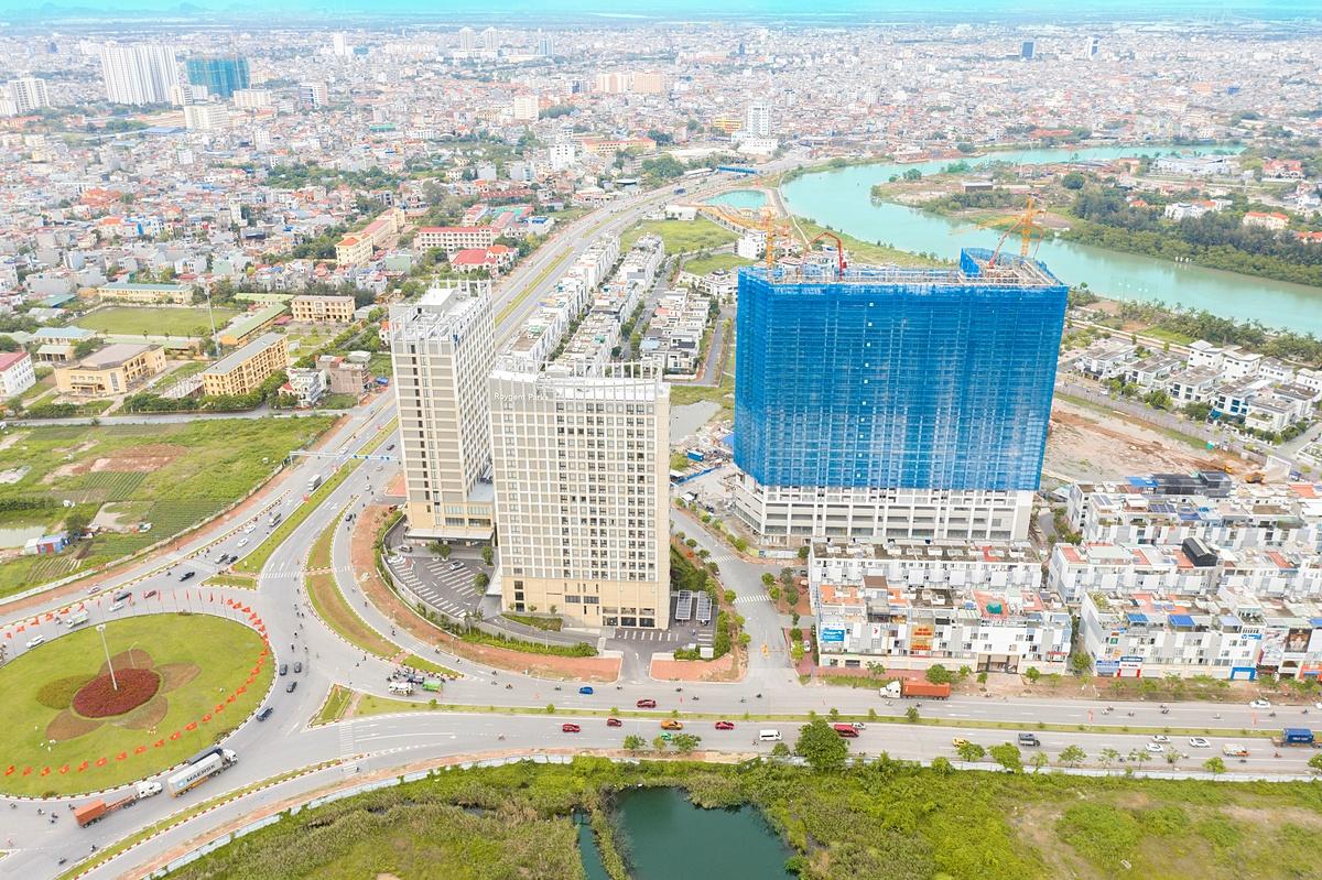 Dự án The Minato Residence có vị trí giao thông thuận lợi.