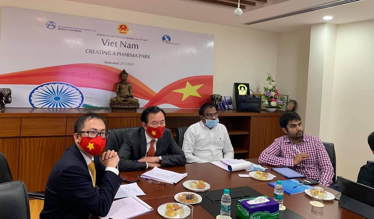 Ấn Độ muốn rót vốn vào'công viêndược phẩm' 500 triệu USD tại Việt Nam
