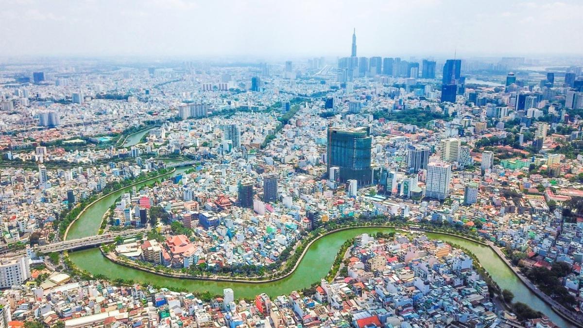Một góc TP HCM chụp tháng 11/2020. Ảnh: Nhật Minh.