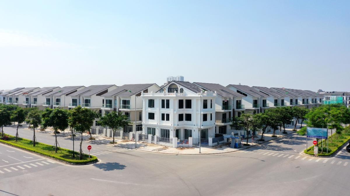Có khoảng 100 căn biệt thự An Vượng Villa sẽ được bàn giao đưa vào sử dụng trong giai đoạn tới.