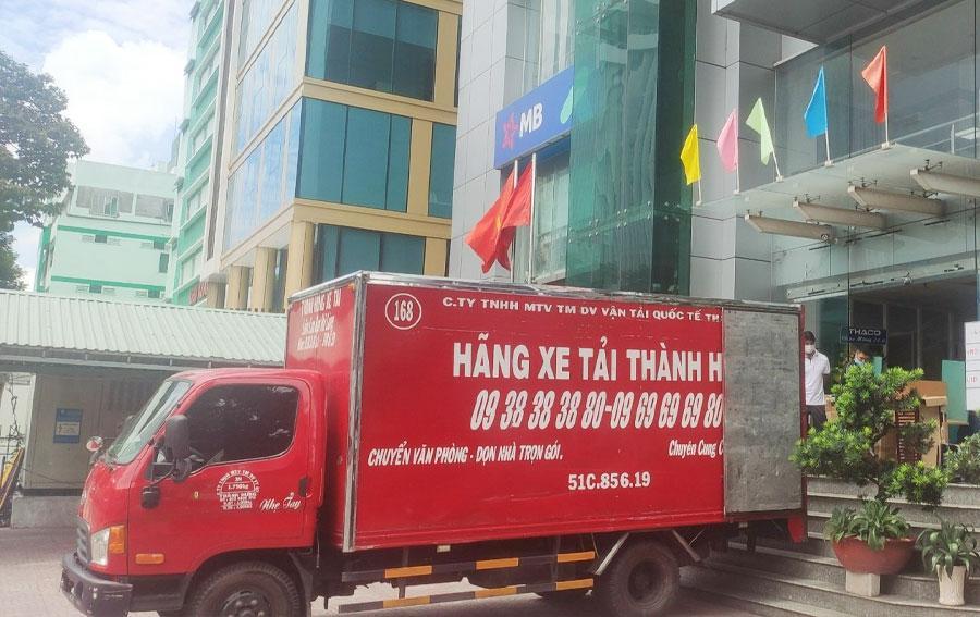 Taxi tải Thành Hưng có 20 năm phục vụ khách hàng.