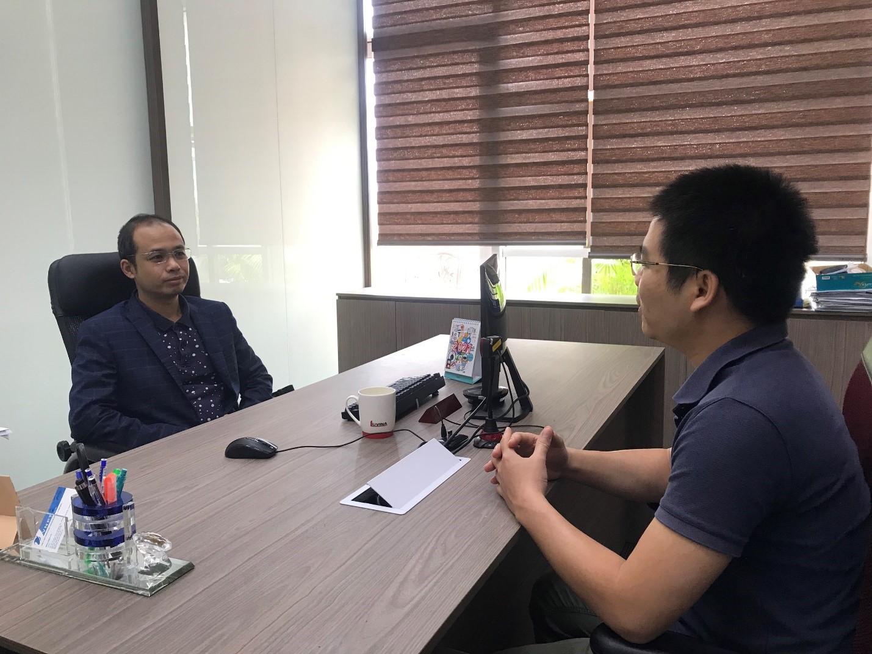 Ông Lê Quang Lương - CEO Luvina Software JSC chia sẻ. Ảnh: Luvina.