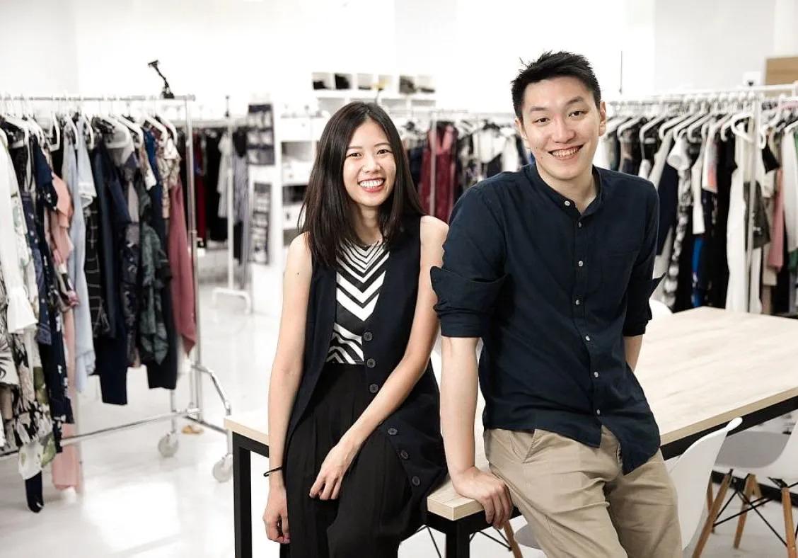 Vợ chồng Raena Lim và Chris Halim. Ảnh: Style Theory