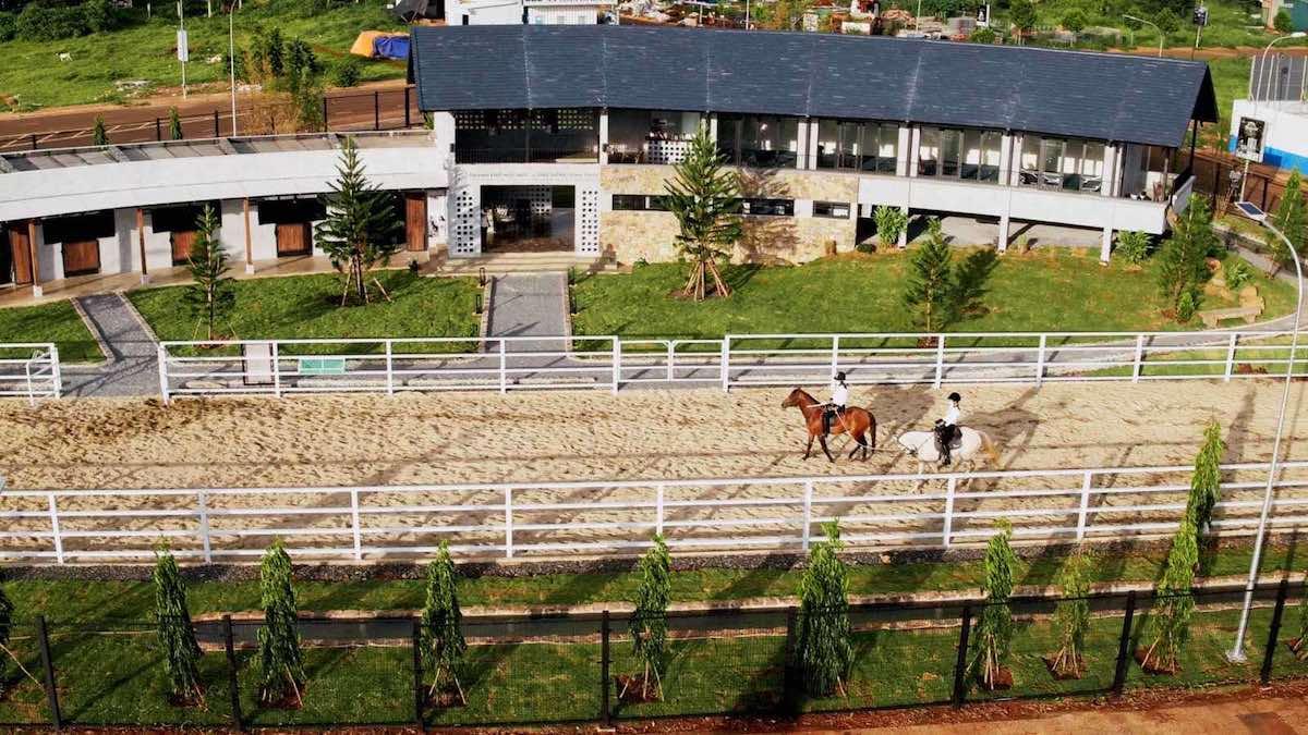 Thành phố Cà phê là đô thị tiên phong kiến tạo thú chơi ngựa Ả Rập tại Việt Nam.