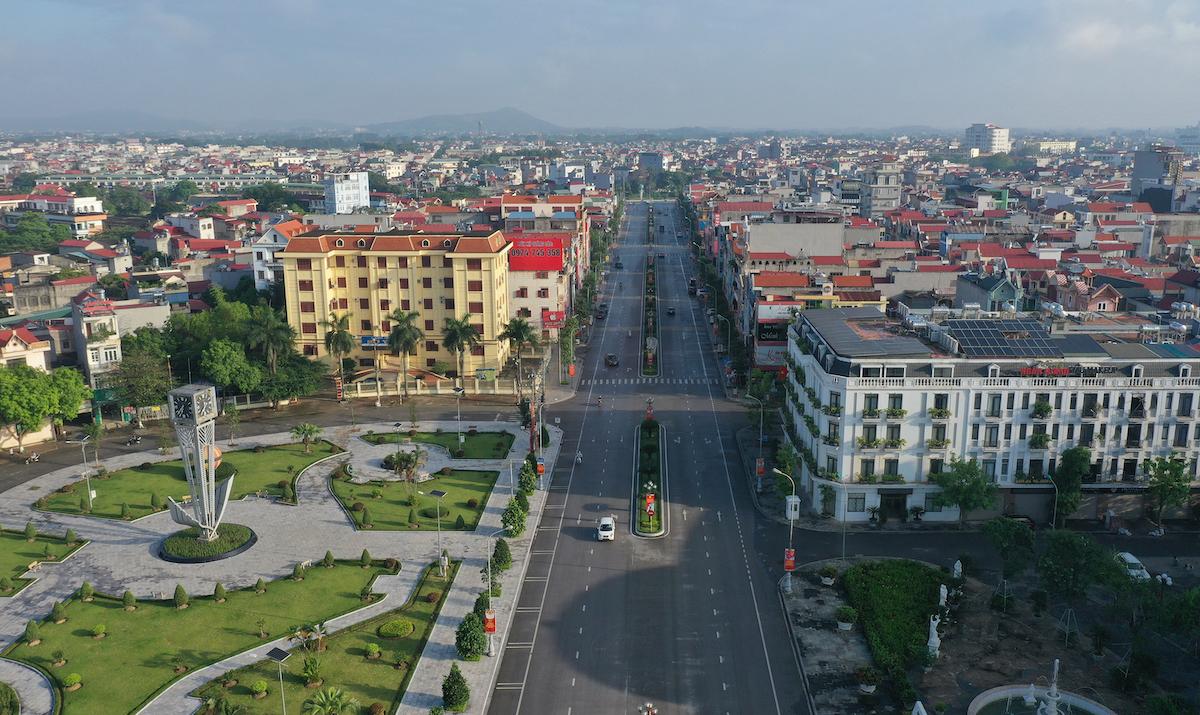 Bắc Giang, một trong những thị trường được giới đầu tư miền Bắc quan tâm. Ảnh: Ngọc Thành