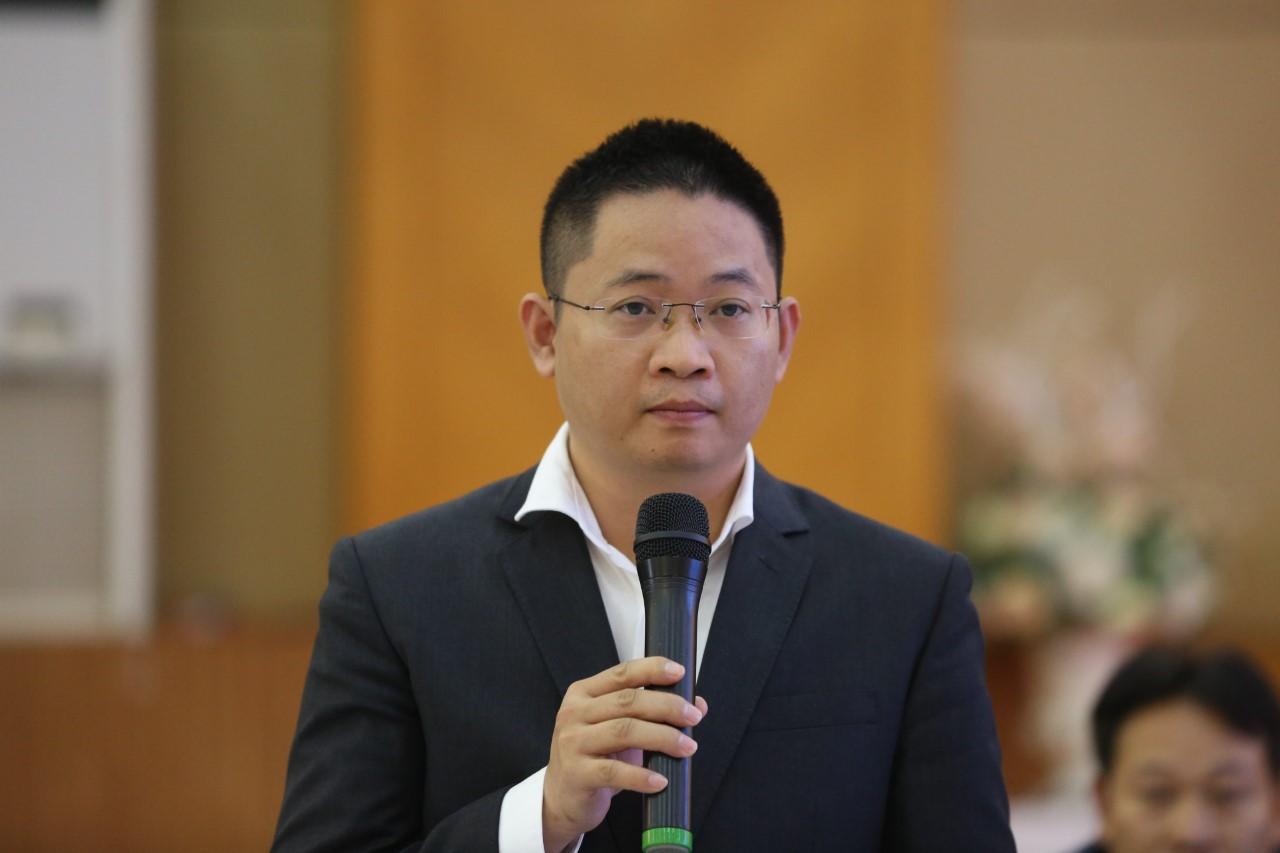 Bà Cao Cẩm Linh - Giám đốc Chiến lược Tổng công ty Cổ phần Bưu chính Viettel.