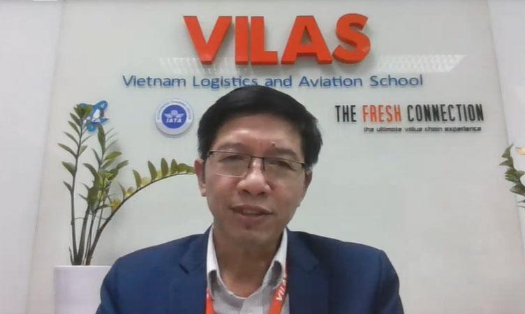 Ông Trần Chí Dũng - Phó Viện trưởng - Viện Quản trị Logistics toàn cầu.