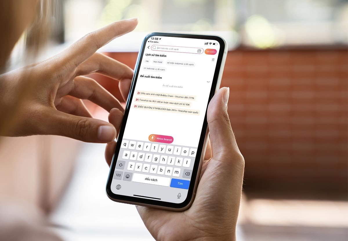 Lazada hiện là nền tảng thương mại điện tử duy nhất tại Việt Nam ứng dụng công nghệ tìm kiếm bằng giọng nói voice search. Ảnh: Lazada Việt Nam