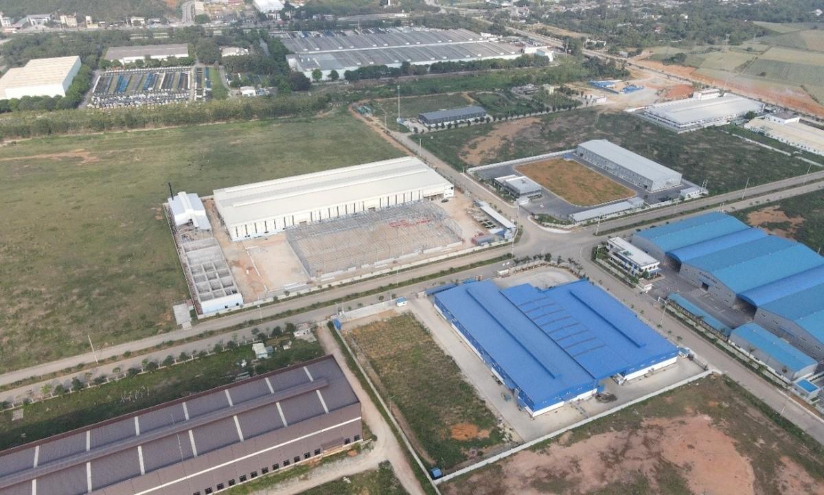 Khu công nghiệp Bỉm Sơn - Thanh Hóa một trong những khu công nghiệp có vị trí chiến lược khu vực Bắc Trung Bộ.