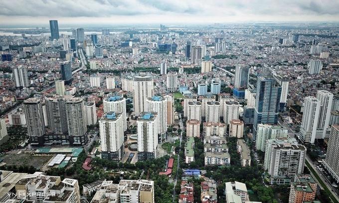 Thị trường bất động sản Hà Nội. Ảnh:Giang Huy.