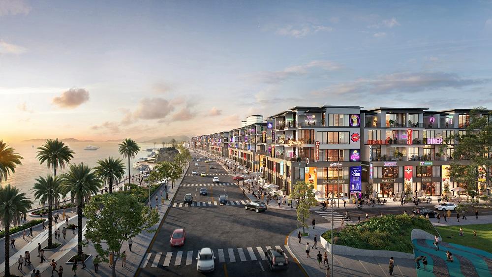 Phối cảnh dự án Lagi New City do Tập đoàn Danh Khôi và DKRA Vietnam hợp tác phát triển. Ảnh: DKRA
