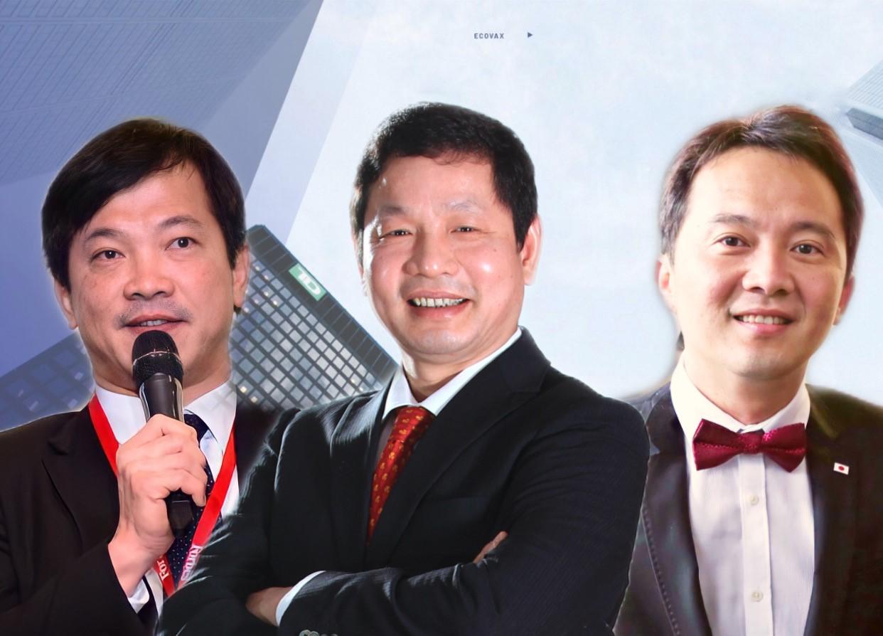 Ông Mai Hữu Tín – Chủ tịch HĐQT U&I, ông Trương Gia Bình - Chủ tịch HĐQT tập đoàn FPT và ông Jakarin Srimoon - Phó Chủ tịch phụ trách các vấn đề quốc tế Đại học quốc tế thuộc Phòng thương mại Thái Lan (UTCC) – Thái Lan sẽ là những diễn giả trong chương trình đào tạo (từ trái qua). Ảnh: Đức Trần.