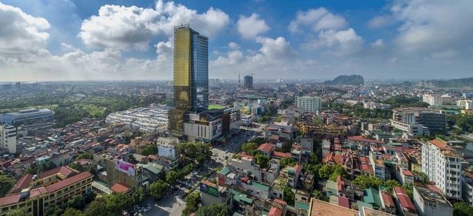 Diện mạo của thành phố Thanh Hóa. Ảnh:V.H.T
