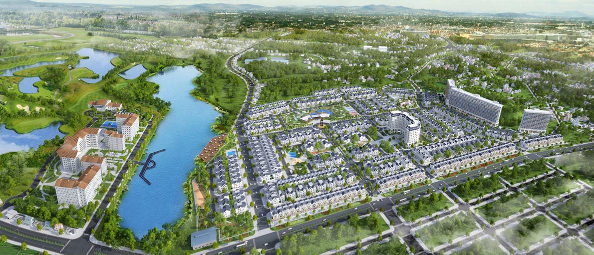 Phối cảnh tổng thể dự án Times Garden Vĩnh Yên Residences.