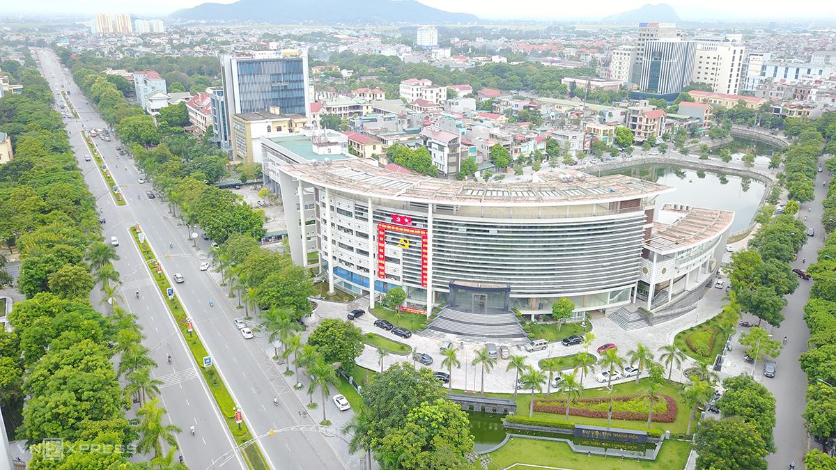 Thành phố Thanh Hoá. Ảnh: Lê Hoàng