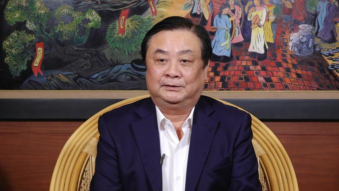 Bộ trưởng Lê Minh Hoan chia sẻ về chuyển đổi số nông nghiệp.