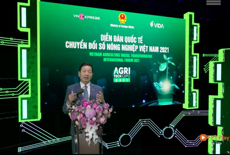Ông Trương Gia Bình, Chủ tịch Hiệp hội Nông nghiệp số Việt Nam.