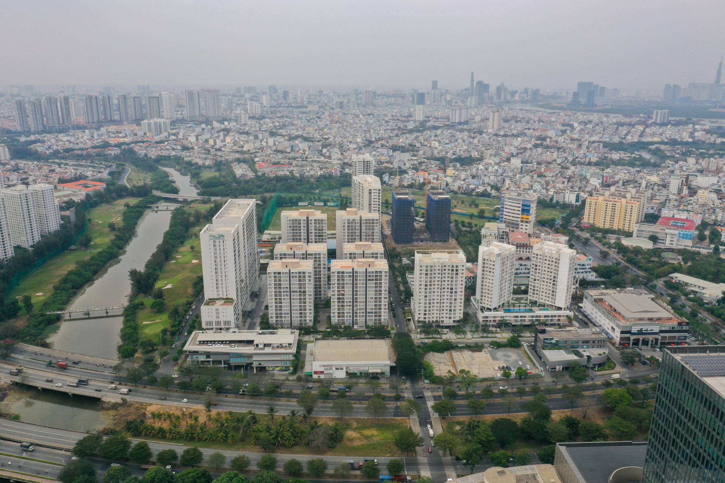 Thị trường nhà chung cư phía Nam TP HCM. Ảnh: Quỳnh Trần