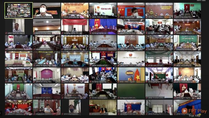 Các đại biểu tham gia Diễn đàn Chuyển đổi số Nông nghiệp Việt Nam.