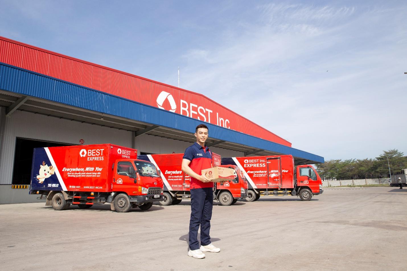 Trung tâm phân loại TP HCM - nơi phân loại hàng hoá tự động lớn nhất của BEST Inc. tại Đông Nam Á.