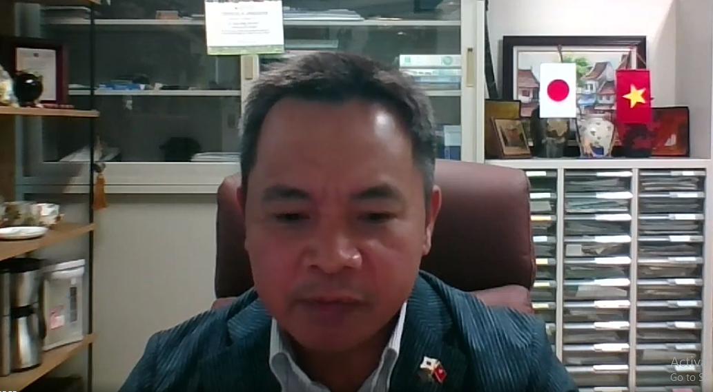 Phó Giáo sư - Tiến sĩ Trần Đăng Xuân, trường đại học Hiroshima (Nhật Bản) chia sẻ về Chuyển đổi số nông nghiệp và ứng dụng khoa học - công nghệ trong nông nghiệp tại Nhật Bản.