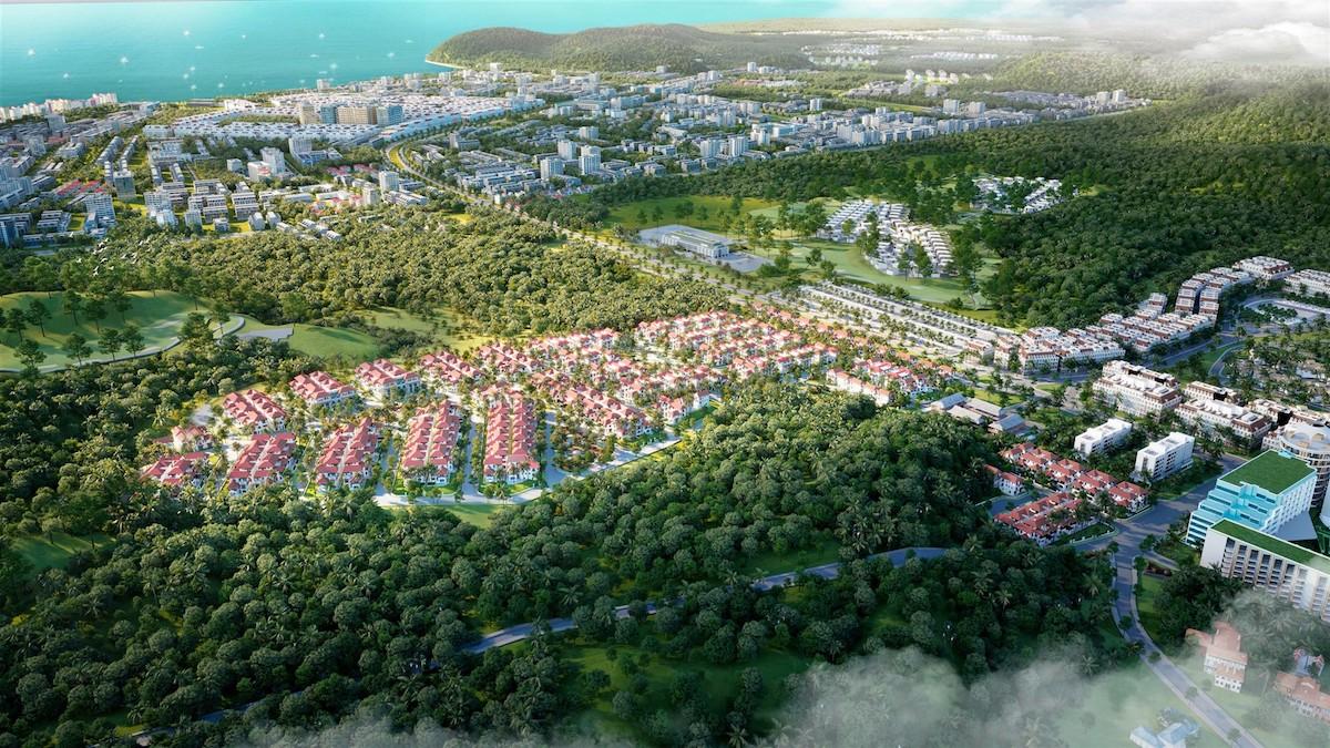 Chủ nhân biệt thự ngôi làng nhiệt đới thừa hưởng toàn bộ tiện ích đẳng cấp ở quần thể Bãi Kem.